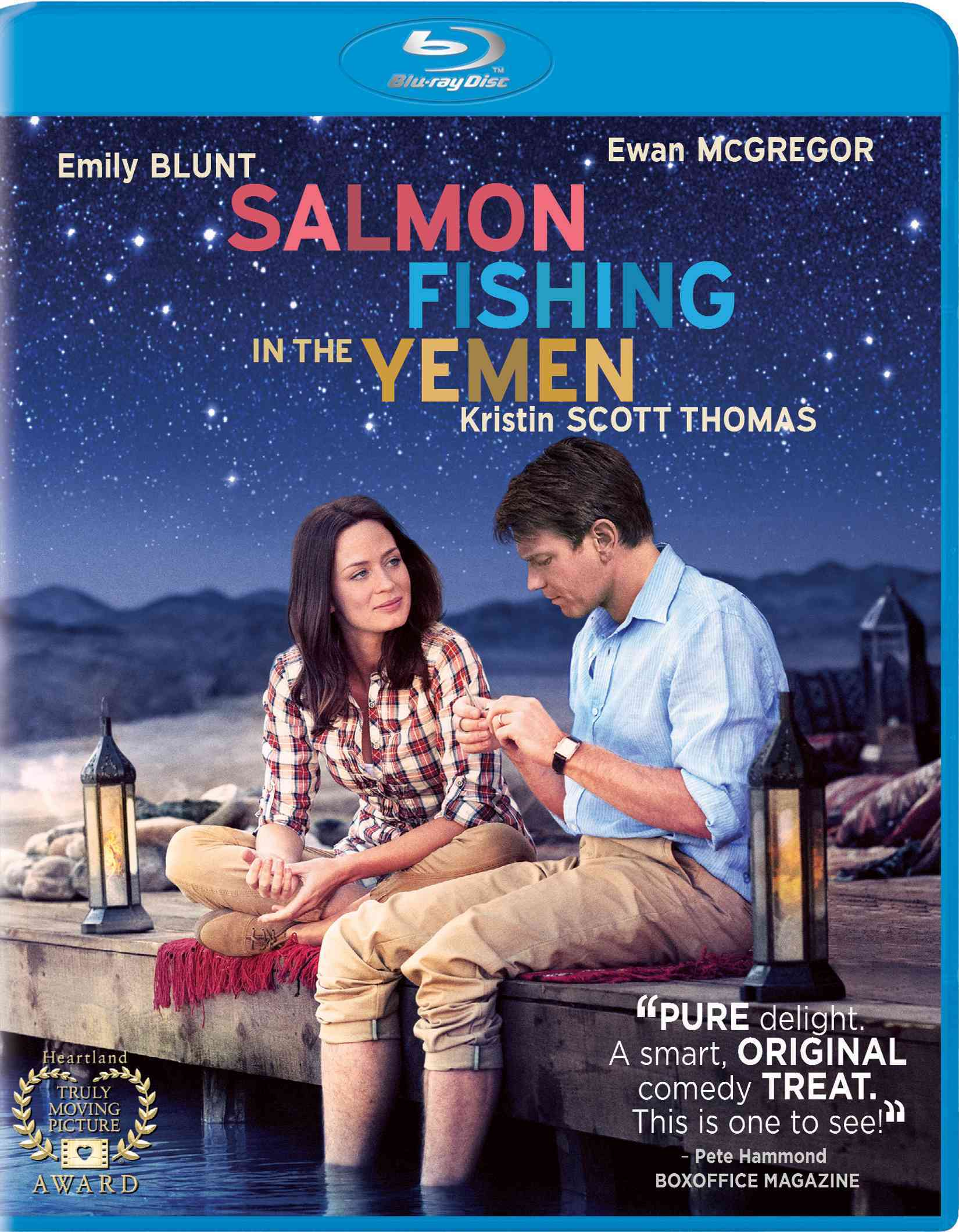 SALMON FISHING IN THE YEMEN BY MCGREGOR,EWEAN (Blu-Ray)