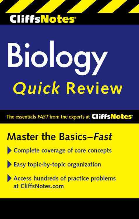 Cliffsnotes Biology Quick Review By Cox, Kellie Ploeger